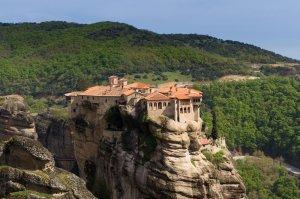Les monastères des Météores en Grèce