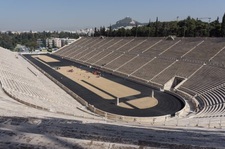 Stade olympique à Athènes