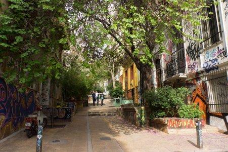 Quartier Exarcheia, Athènes