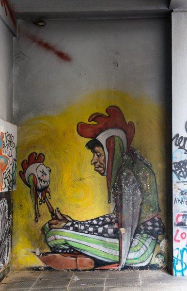 Graffiti à Athènes