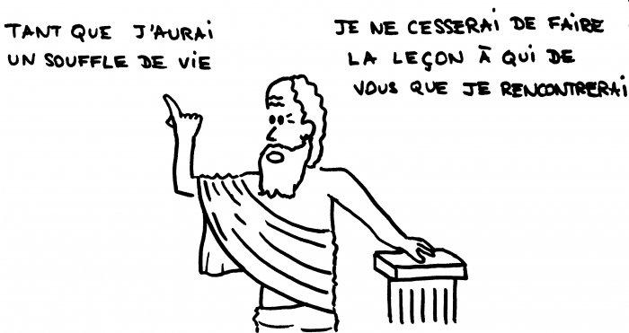 La défense de Socrate