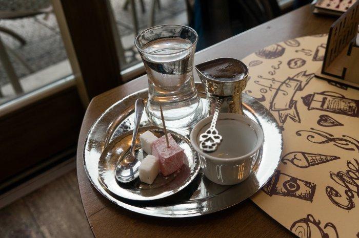 Café bosnien à la turque