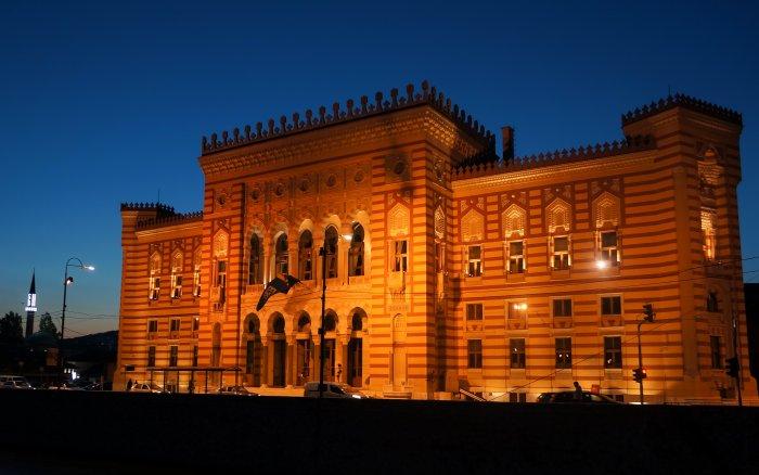 City Hall de Sarajevo