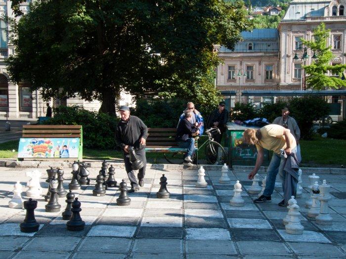 Echecs à Sarajevo