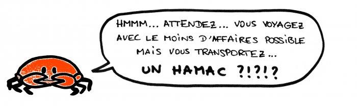 Hamac tour du monde