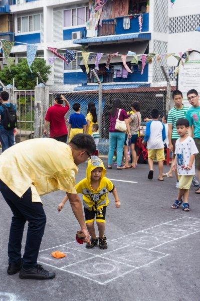 Jeux de rue à Penang