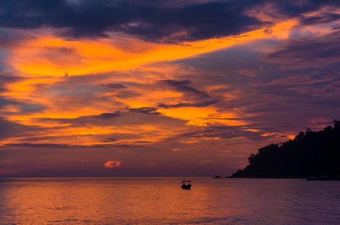 Coucher de soleil à Pangkor
