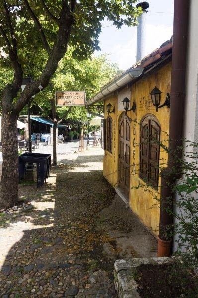 Quartier bohème Skadarlija à Belgrade