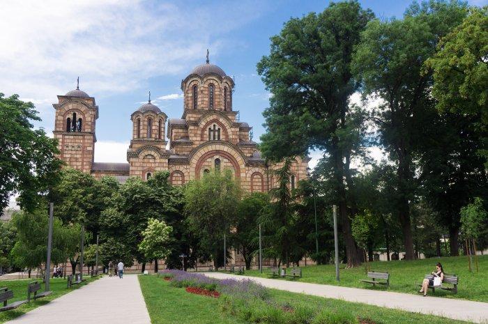 Eglise de Tašmajdan, Belgrade