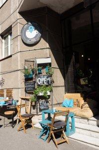 Café à Belgrade