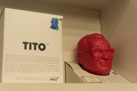 Boutique souvenir Tito