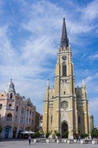 Novi Sad, Serbie, église du Nom-de-Marie