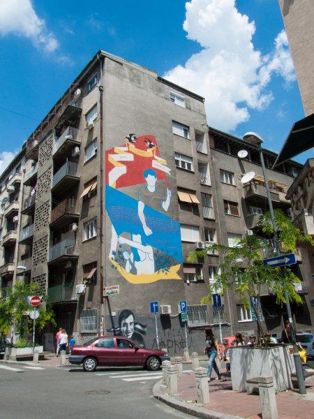 Immeuble à Belgrade