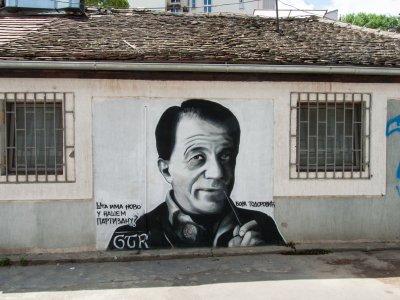 Graffiti à Belgrade