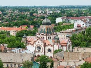 Synagogue de Subotica, Serbie