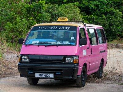 Taxi rose à Pangkor