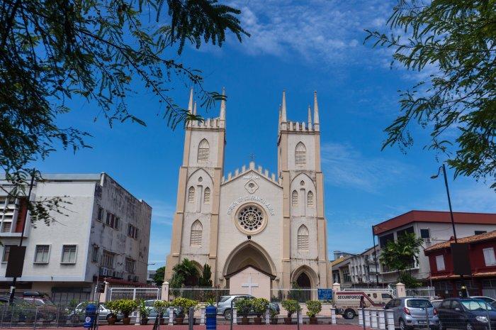 Eglise St Francis Xavier, Melaka
