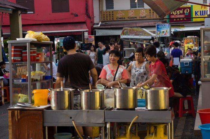 Night market, Melaka