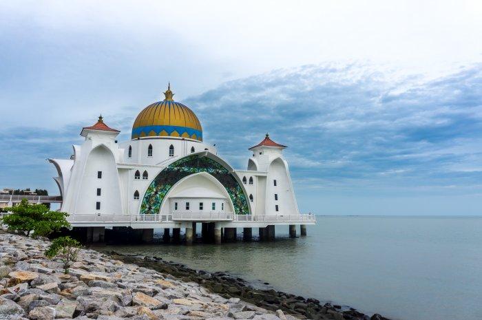 Malacca Straits Mosque, Malaisie