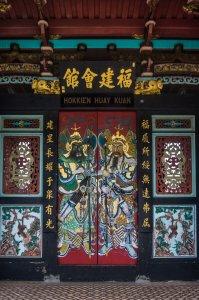 Temple chinois, Melaka