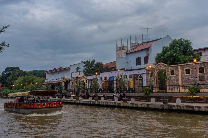 Rivière de Melaka, Malaisie