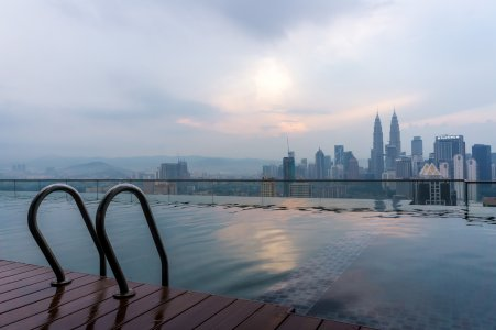 Piscine Regalia, Kuala Lumpur, Malaisie