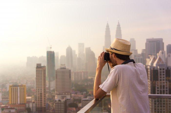 Kuala Lumpur vue d'en haut, Malaisie