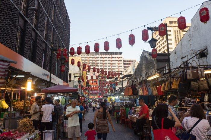 Chinatown à Kuala Lumpur