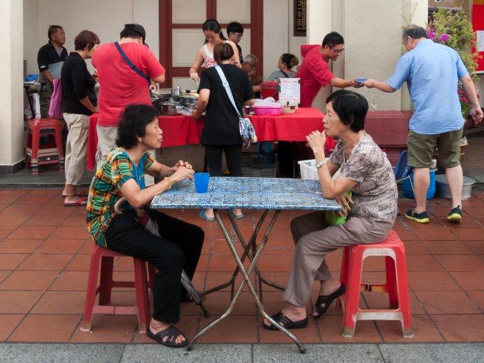 Stand de rue, Melaka