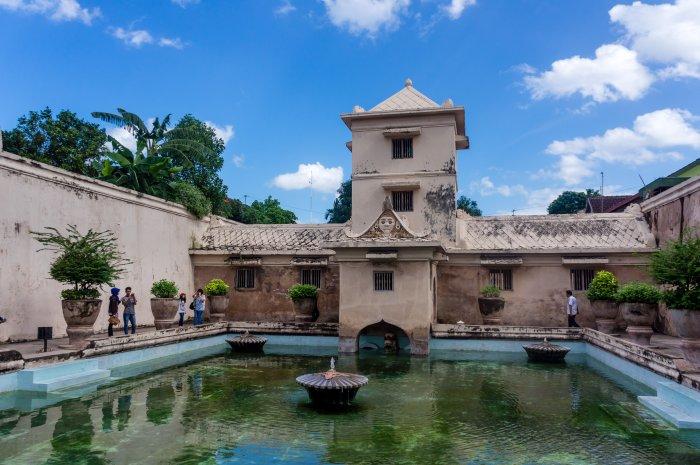 Water palace, Yogyakarta, Indonésie