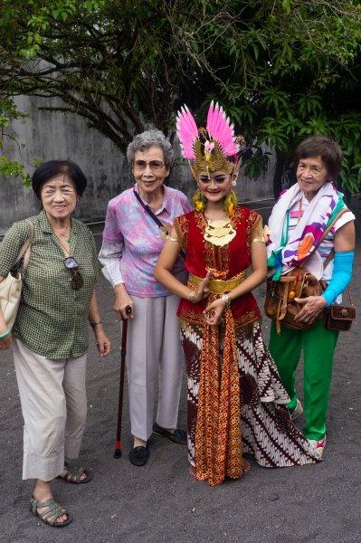 Danseuse, Kraton, Yogyakarta, Indonésie