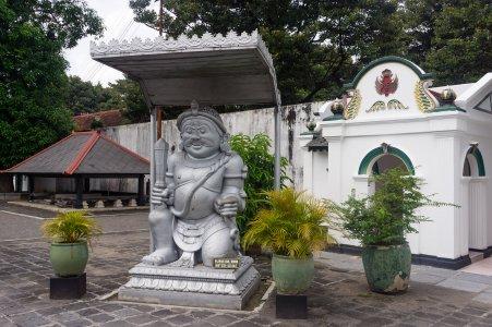 Entrée du Kraton, Yogyakarta, Indonésie