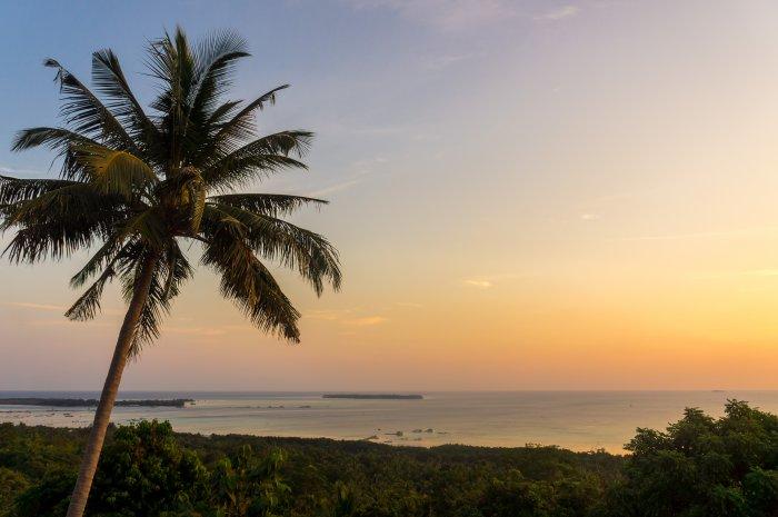 Karimunjawa au coucher du soleil, Indonésie