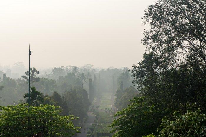 Temple de Borobudur, Java, Indonésie