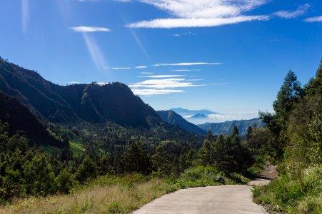 Randonnée près du mont Bromo, Indonésie