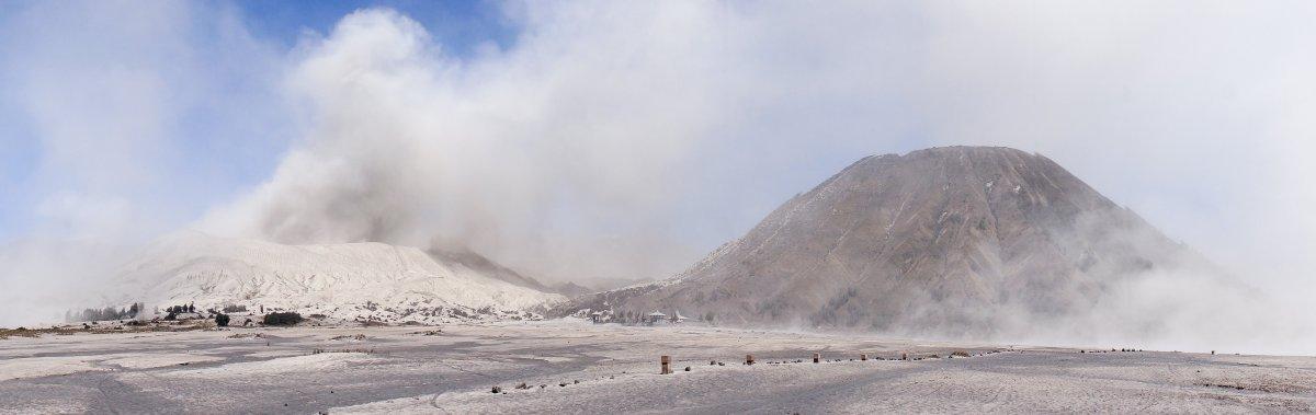 Mont Bromo en activité, Indonésie