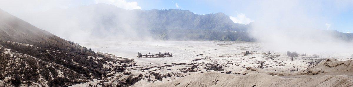 Vue du haut du Mont Bromo, Java, Indonésie