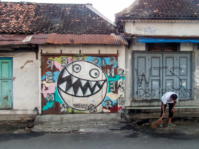 Yogyakarta, Indonésie