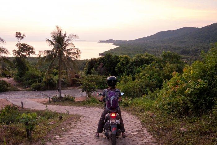 Scooter en Indonésie