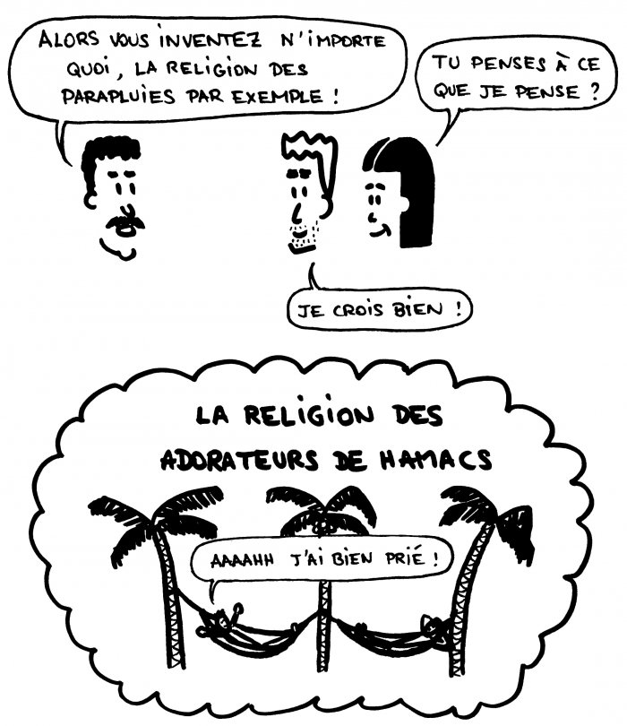 La religion des adorateurs de hamacs