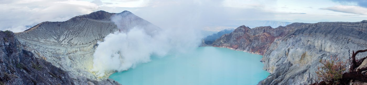 Volcan Kawah Ijen, Java, Indonésie