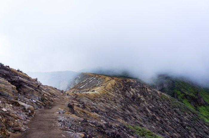 Cratère du volcan Ijen, Indonésie
