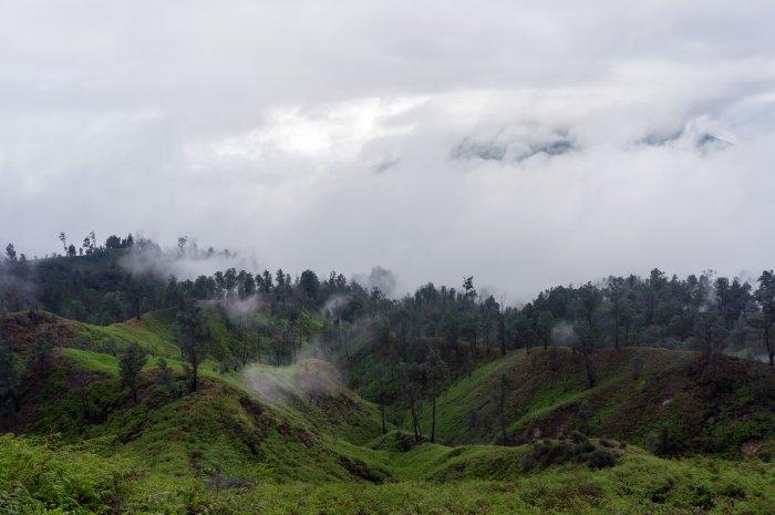 Paysages Java Indonésie