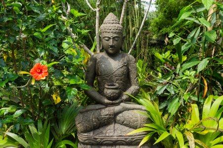 Statue de Bouddha zen, Bali