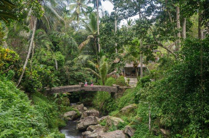Gunung Kawi, Bali, Indonésie