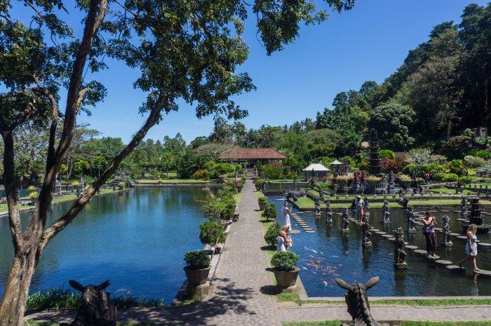 Tirta Gangga, Bali, Indonésie