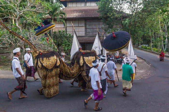 Galungan à Bali
