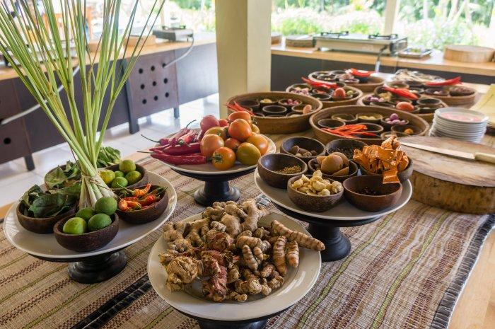 Cours de cuisine indonésienne, Bali
