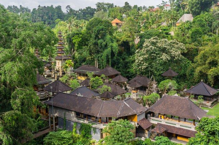 Temple dans la nature, Ubud, Bali