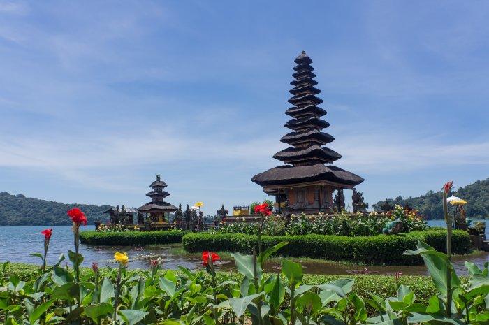 Pura Ulun Danu Beratan, Bali, Indonésie